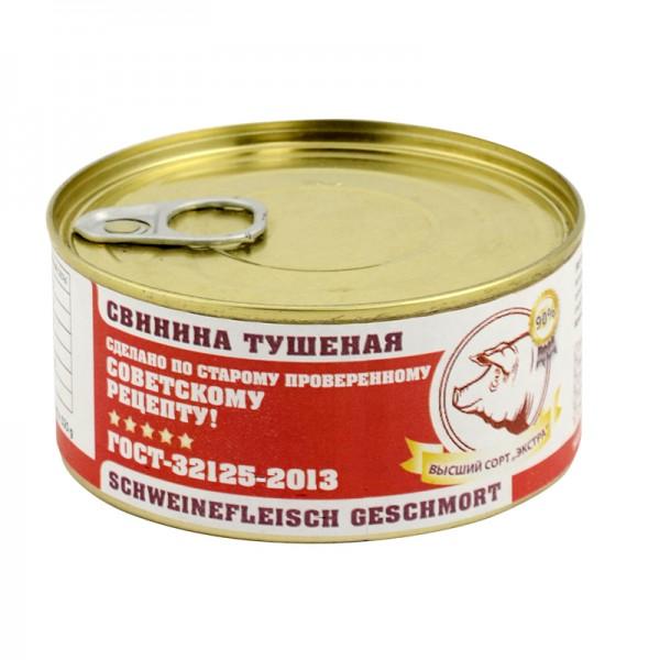 Exquisites Dosenfleisch Tuschenka Schwein, 325 g, PREMIUMQUALITÄT