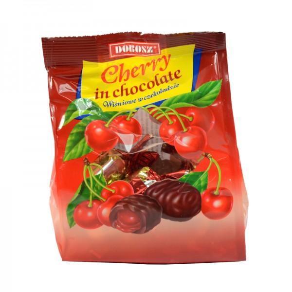 Premium-Konfekt Pralinen Kirsche Cherry Вишня в шоколаде DOBOSZ, 300 g