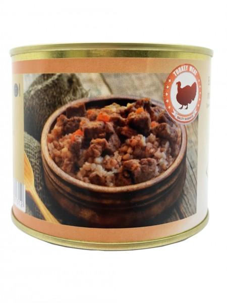 Buchweizenbrei mit Putenfleisch 525g
