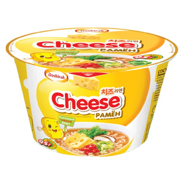 Fertignudeln Doshirak Cheese ramjon, 95 g