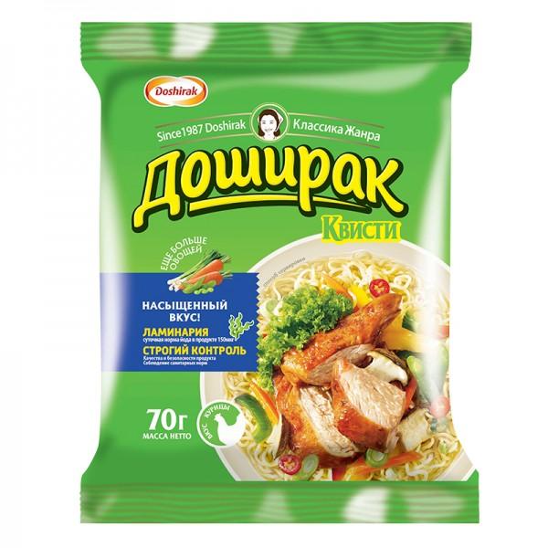 Fertignudeln Doshirak Quisti Chicken Huhn ДОШИРАК-КВИСТИ, 70 g