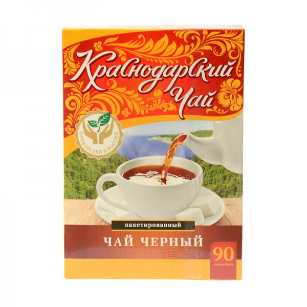 Krasnodarskij Chaj КРАСНОДАРСКИЙ ЧАЙ, 90 Beutel, 180 g