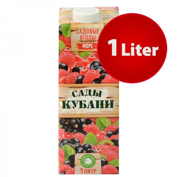 MORS Saft Gartenfrüchte Sady Kubani Сады Кубани Морс im Tetra Pak, 1 Liter