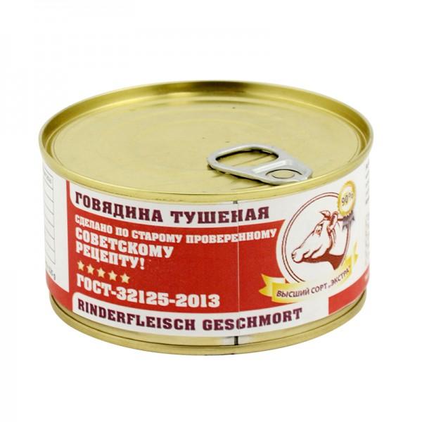 Exquisites Dosenfleisch Tuschenka Rind, 325 g, PREMIUMQUALITÄT