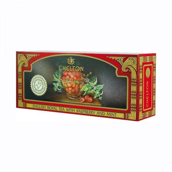 Englischer Royaltee Himbeere-Minze, 25 Beutel