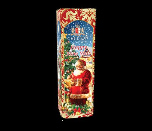 Weihnachtsmann, schwarzer, loser Tee in Dose, 80 g