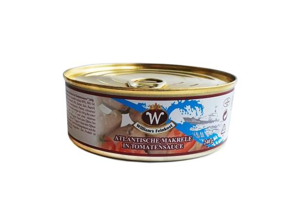 Atlantische Makrele in Tomatensauce 240g