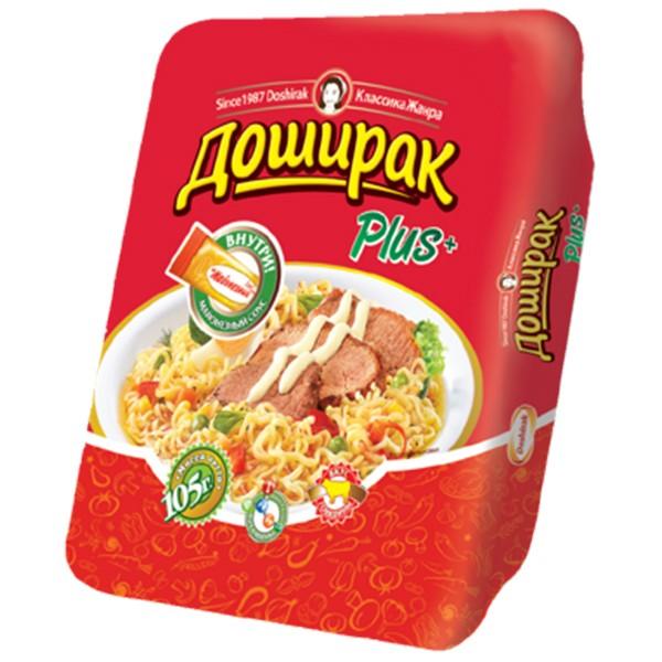 Fertignudeln Doshirak Plus Rind Beef ДОШИРАК, 105 g