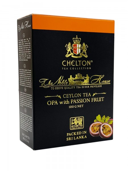 The Nobel House Black OPA + Passionsfrucht lose 100g