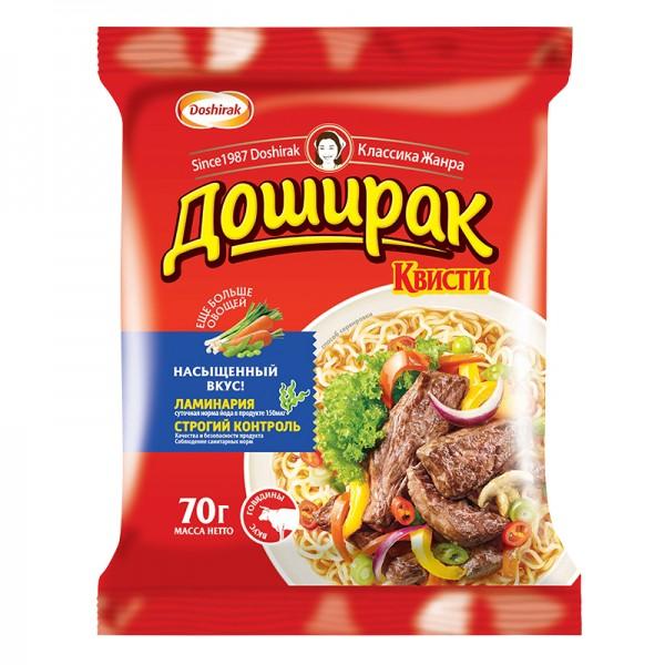 Fertignudeln Doshirak Quisti Beef Rind ДОШИРАК-КВИСТИ, 70 g