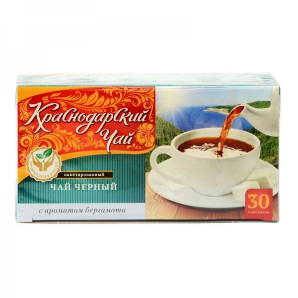 Krasnodarskij Chaj Bergamotte КРАСНОДАРСКИЙ ЧАЙ с ароматом бергамота, 30 Beutel, 60 g