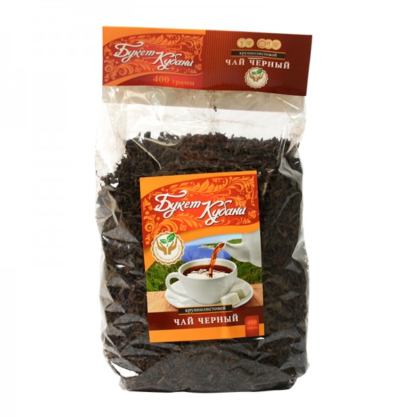 Krasnodarskij Chaj КРАСНОДАРСКИЙ ЧАЙ, loser schwarzer Tee, 400 g