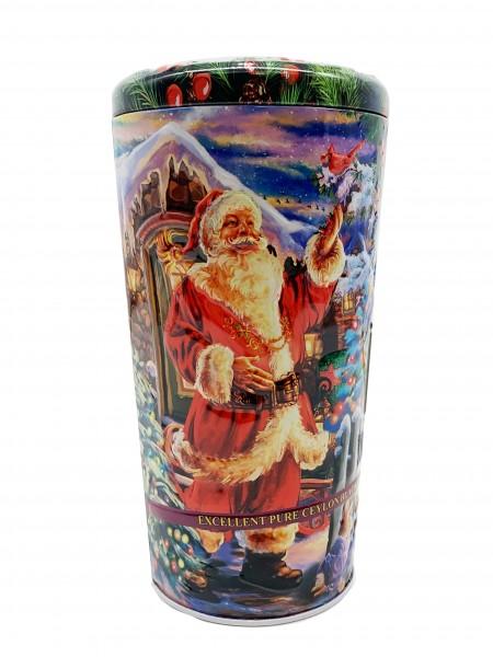 """Vase Weihnachten mit Chelton """"Christmas! 100% Ceylon Tee 80g"""