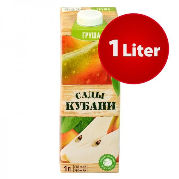 NEKTAR BIRNE Sady Kubani Сады Кубани im Tetra Pak, 1 Liter