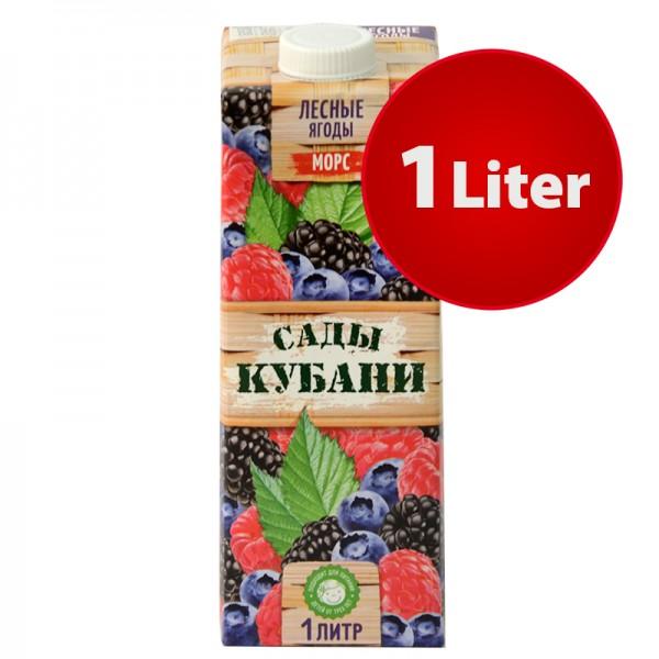 MORS Saft Waldfrucht Sady Kubani Сады Кубани Морс im Tetra Pak, 1 Liter