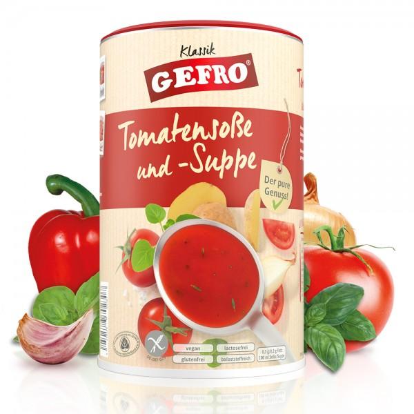 Tomatensoße und -Suppe