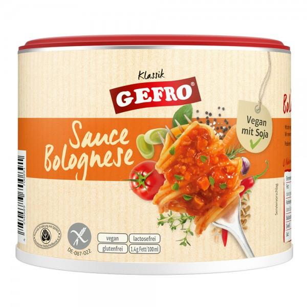 Sauce Bolognese vegan mit Soja
