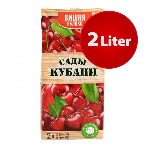 NEKTAR WEINTRAUBE-APFEL Sady Kubani Сады Кубани im Tetra Pak, 2 Liter
