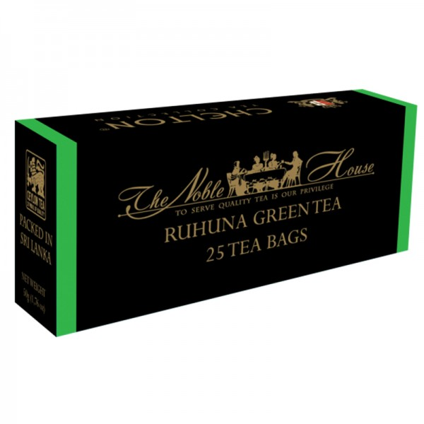 The Noble House – Ruhuna Green Tea, grüner Tee 25 Beutel